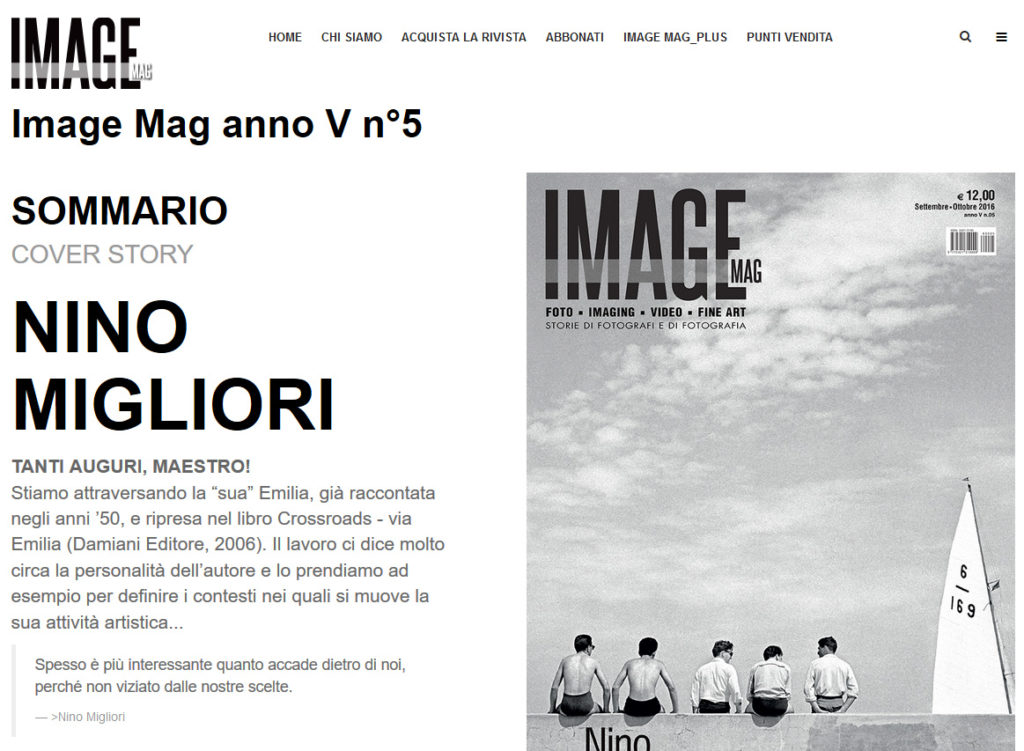 IMAGE MAG – numero V