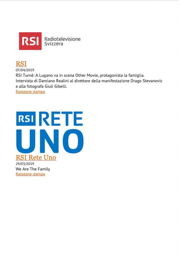 """Intervista RSI Radiotelevisione svizzera e Intervista RSI Rete Uno per la mia mostra fotografica  """"Quo vadis familia ?"""""""